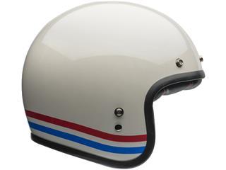 Casque BELL Custom 500 DLX Stripes Pearl White taille XXL - b82617f0-4ed9-4076-8290-2b685606a5d9