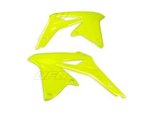 Ouïes de radiateur UFO jaune fluo Suzuki RM-Z450 - 78334265