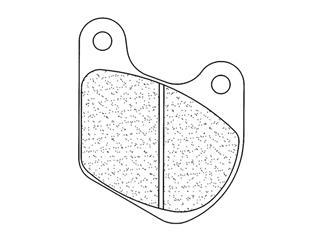 Plaquettes de frein CL BRAKES 2718A3+ métal fritté - 27271801