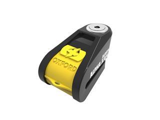 Bloque disque alarme OXFORD Alpha XA14 Ø14mm jaune