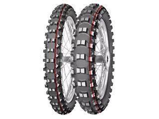 MITAS Tyre TERRA FORCE-MX SM - Soft To Medium - 100/90-19 M/C 57M TT red