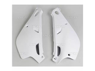 Plaques latérales UFO blanc Yamaha YZ80LC/LW - 78427714