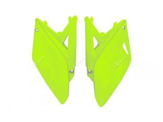 Plaques latérales RACETECH jaune fluo Suzuki RM-Z450 - 7805050
