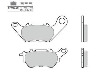 Plaquettes de frein BREMBO 07YA53CC organique Yamaha - 38800516
