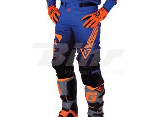 Pantalón ANSWER Trinity Negro/Azul Oscuro/Naranja Flúor Talla 28 (XS)