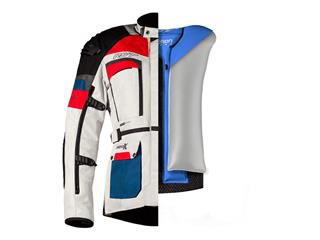 Chaqueta Textil (Hombre) con Airbag RST ADVENTURE-X Azul/Rojo , Talla 52/M - b98d301b-9563-4d5e-9a64-8f0dae30de54