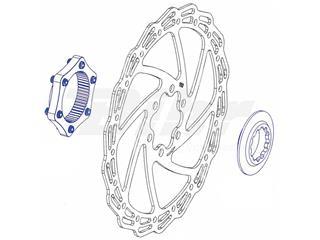 Conversor disco universal a center lock con arandela de cierre color plata - b9a3ff2d-fa92-4fb2-9f88-726ff0fe5365