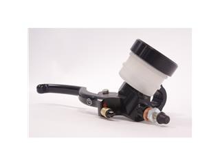 BERINGER Classic Axial Brake Master Cylinder Ø17,5mm Plug-In Reservoir Black (Type A Lever - 16cm Silver)