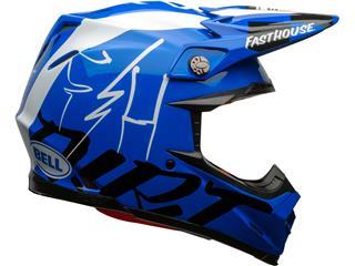 Casque BELL Moto-9 Flex Fasthouse DID 20 Gloss Blue/White taille L - ba0f18a6-735e-4e5c-a20d-499fc683a95c