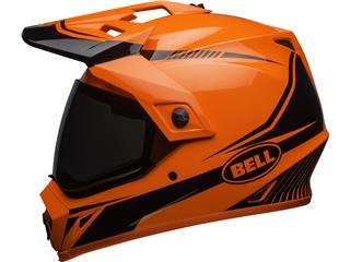 Casque BELL MX-9 Adventure MIPS Gloss HI-VIZ Orange/Black Torch taille S - ba1679f5-5c08-4348-b0d3-9e0743f939ae