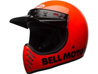 Casque BELL Moto-3 Classic Neon Orange taille M - 7081029