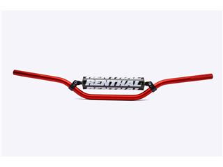 RENTHAL Classic Mini MX 50CC Ø22,2mm Handlebar w/ Crossbar Red/Black Pad