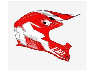 JUST1 J32 Pro Helmet Kick White/Red Matte Size M - ba9ec663-73f6-4f82-b792-54f2ce44f737