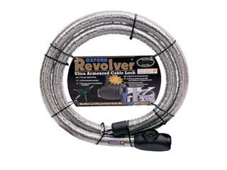 ANTIVOL CABLE REVOLVER 1.4M X 25MM ARGENT - 25002231