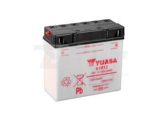 Batería Yuasa 51913 Combipack (con electrolito)
