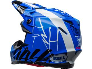 Casque BELL Moto-9 Flex Fasthouse DID 20 Gloss Blue/White taille L - bb30721c-1cb1-4463-a9fd-34eb87990662