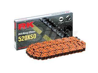 Cadena RK FO520XSO con 118 eslabones naranja - 99473118