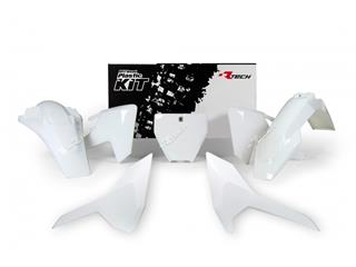 Kit plastique RACETECH couleur origine (2017) blanc Husqvarna - 7805000