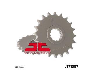 JT SPROCKETS Front Sprocket 19 Teeth Steel Standard 428 Pitch Type 1587