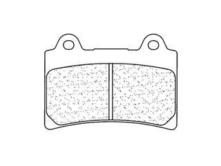 Plaquettes de frein CL BRAKES 2305S4 métal fritté - 272305S4