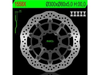 NG 1558X Brake Disc Wave Semi-Floating Kawasaki