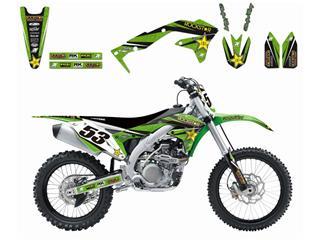 Kit déco BLACKBIRD Rockstar Energy Kawasaki KX450F - 7805151