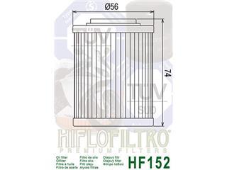 HIFLOFILTRO HF152 Oil Filter - bc647678-b60e-41db-abfe-1a87b0e2f4a5
