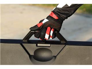 Tapis récupérateur pliable POLISPORT Bike Mat bicolore rouge/noir  - bc674490-e965-4e9b-b6c3-65bdf289ea2d