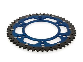 Couronne ART Bi-composants 49 dents aluminium/acier ultra-light anti-boue pas 520 type 822 bleu - bc8511f0-15f3-433d-9654-6cfb9865829c