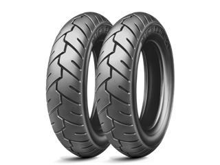 MICHELIN Tyre S1 80/100-10 M/C 46J TL/TT
