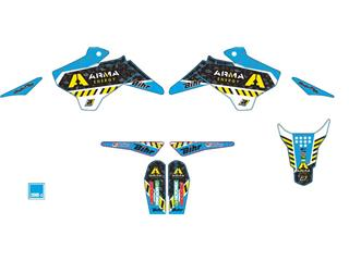 Kit complet BLACKBIRD ARMA bleu YCF - 78101727