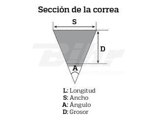 Correia variador Bando SH Scoopy 100 - bcbdad04-e155-42a2-b6e9-13c7fa34c3e6