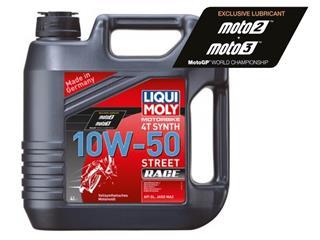 Garrafa de 4L aceite Liqui-Moly 100% sintético 10W-50 Street Race