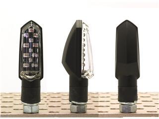 Clignotants V PARTS Bud LED noir universel