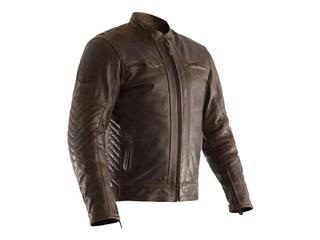 RST Classic TT Retro II CE Leather Jacket Black Size S Men