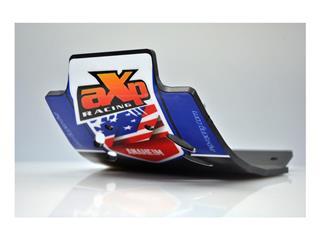 AXP Anaheim HDPE MX Glide Plate Black/Blue Sticker Yamaha YZ125 - 4411348