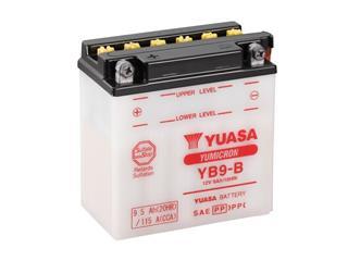 Batterie YUASA YB9-B conventionnelle
