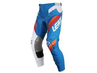 Pantalon LEATT GPX 5.5 I.K.S bleu/blanc taille S/US30/EU48