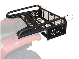 Kolpin Collapsible Rear Drop Rack Black