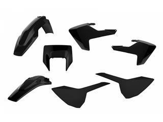 Kit plastique POLISPORT Enduro noir Husqvarna FE/TE - 4420013101