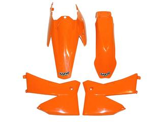 Kit plastique UFO couleur origine orange KTM - 78541800