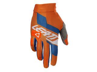 Handske LEATT GPX 2.5 X-Flow Orange/Denim Size M/EU8/US9