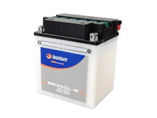 Batterie TECNIUM BB30CL-B conventionnelle livrée avec pack acide - 329771