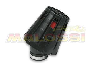 Filtre à air MALOSSI E5 Standard Ø38mm spécifique PHVA/PHBN avec armature noire