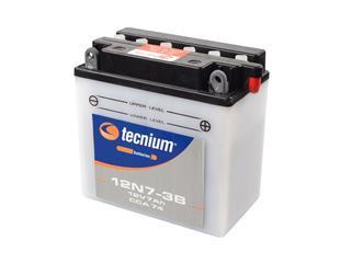 Batterie TECNIUM 12N7-3B conventionnelle livrée avec pack acide - 329279