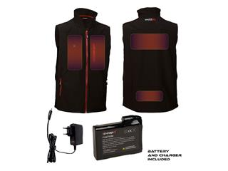 Chaleco calefactable CAPIT WarmMe negro talla L/XL