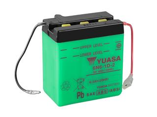 Batterie YUASA 6N6-1D-2 conventionnelle - 326N61D2