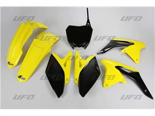 UFO Plastic Kit OEM Color Yellow/Black Suzuki RM-Z250