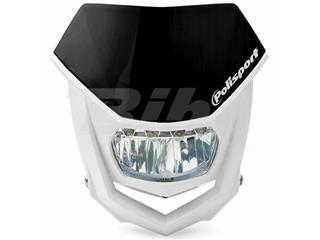 Careta Halo LED homologada Polisport blanco/negro 8667100002