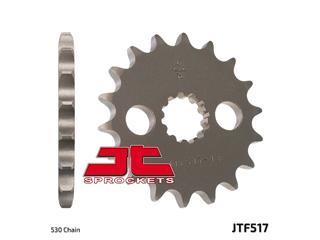 Pignon JT SPROCKETS 17 dents acier standard pas 530 type 517